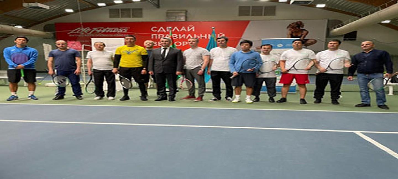 Посольство Туркменистана в Республике Казахстан провело спортивное мероприятие