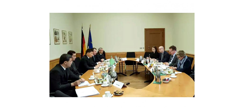 Рабочий визит делегации Туркменистана в Германию